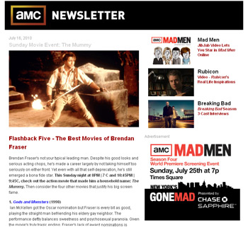 Get the Latest on All Things AMC With a New Weekly Newsletter