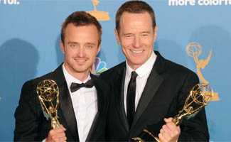<em>EW</em>  Lauds <em>Breaking Bad</em>&#8216;s Emmy Wins, Cranston to Host <em>SNL</em>
