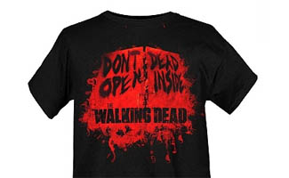 <em>The Walking Dead</em> T-Shirts Available at Hot Topic