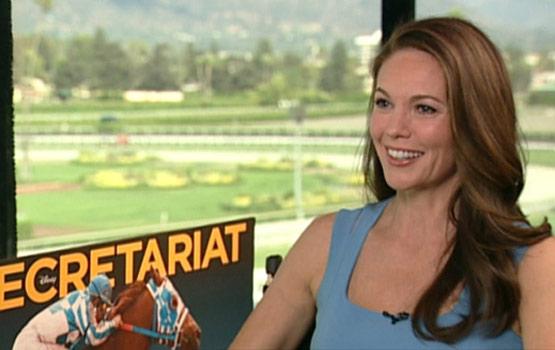 Video – Diane Lane Commandeers the Horse-Racing World in Secretariat
