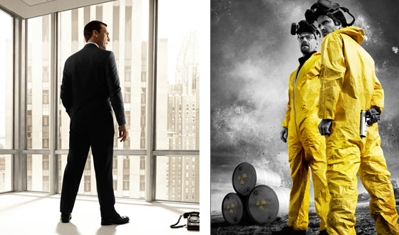 <em>Mad Men</em> and <em>Breaking Bad</em> Nominated for Producers Guild Awards