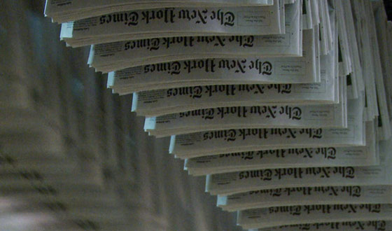 Sundance 2011 &#8211; Print Journalism Under the Microscope in Documentary <em>Page One</em>