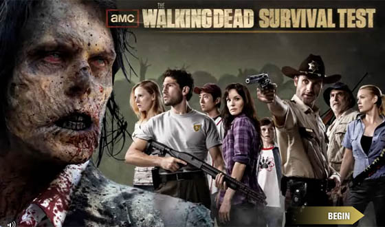 <em>The Walking Dead</em> Survival Test &#8211; What the Results Say About the Fans