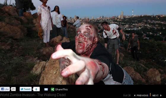 Think American Zombies Are Better Than Italian Zombies? Share Your Preference on Facebook