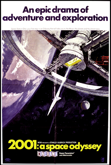 Most Iconic Movie Posters 3 - 9. 2001: A Space Odyssey