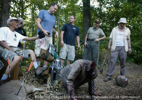 The Walking Dead Season 1 Behind the Scenes Photos 26 - The Walking Dead Season 1 Behind the Scenes Photos