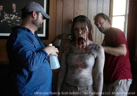 The Walking Dead Season 1 Behind the Scenes Photos 28 - The Walking Dead Season 1 Behind the Scenes Photos