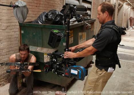 The Walking Dead Season 1 Behind the Scenes Photos 29 - The Walking Dead Season 1 Behind the Scenes Photos