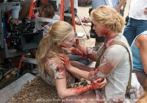 The Walking Dead Season 1 Behind the Scenes Photos 32 - The Walking Dead Season 1 Behind the Scenes Photos