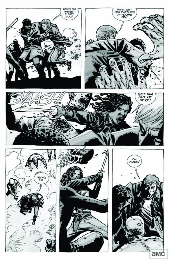Issue 82 - The Walking Dead - Sneak Peek 4 - Issue 82 - The Walking Dead - Sneak Peek