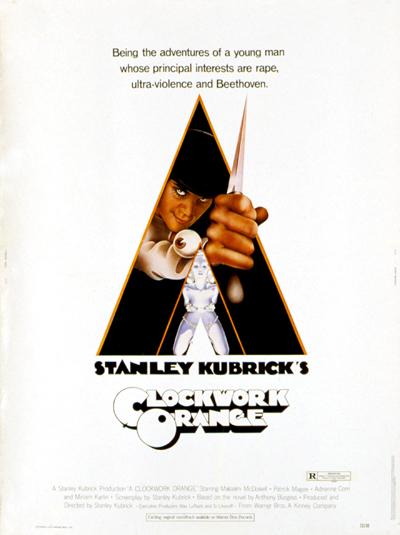 Most Iconic Movie Posters 4 - 8. A Clockwork Orange