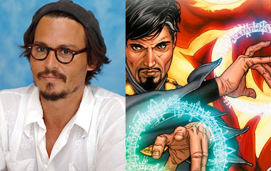 Hey, Johnny Depp! Here Are Some Superheroes You Should Play