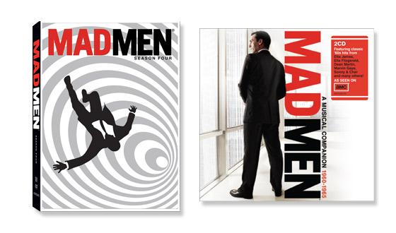 <em>Mad Men</em> Season 4 DVDs and Musical Companion CD Released Tomorrow!