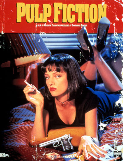 Most Iconic Movie Posters 7 - 5. Pulp Fiction