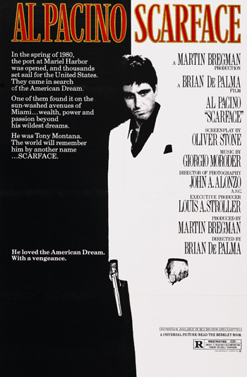 Most Iconic Movie Posters 11 - 1. Scarface