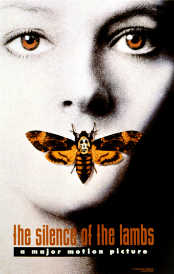 Most Iconic Movie Posters 10 - 2. The Silence of the Lambs