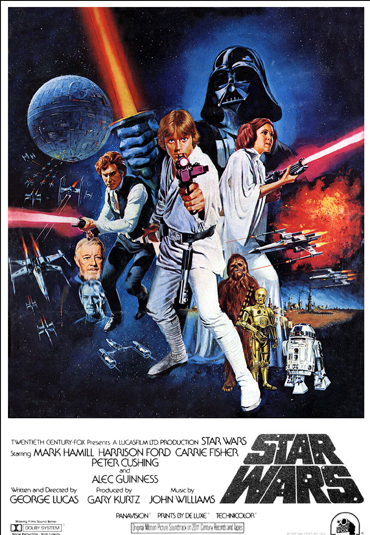 Most Iconic Movie Posters 2 - 10. Star Wars