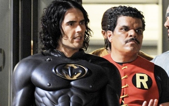 Russell Brand As Batman – and Other Celebrities Who've Dabbled at Playing Superheroes