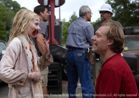 The Walking Dead Season 1 Behind the Scenes Photos 12 - The Walking Dead Season 1 Behind the Scenes Photos