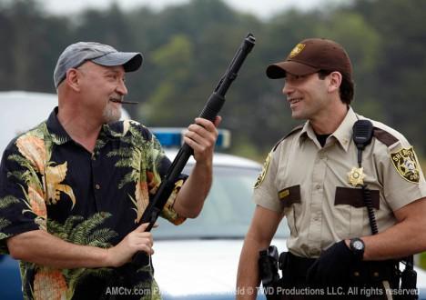 The Walking Dead Season 1 Behind the Scenes Photos 1 - The Walking Dead Season 1 Behind the Scenes Photos