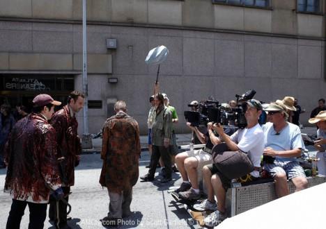 The Walking Dead Season 1 Behind the Scenes Photos 22 - The Walking Dead Season 1 Behind the Scenes Photos