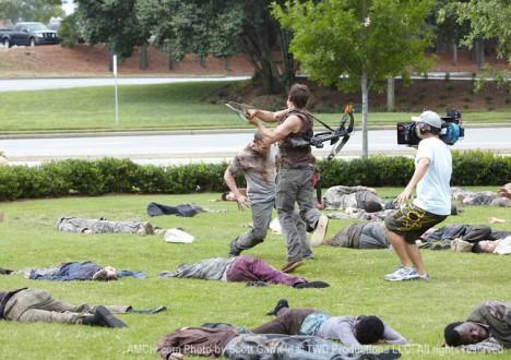 The Walking Dead Season 1 Behind the Scenes Photos 39 - The Walking Dead Season 1 Behind the Scenes Photos