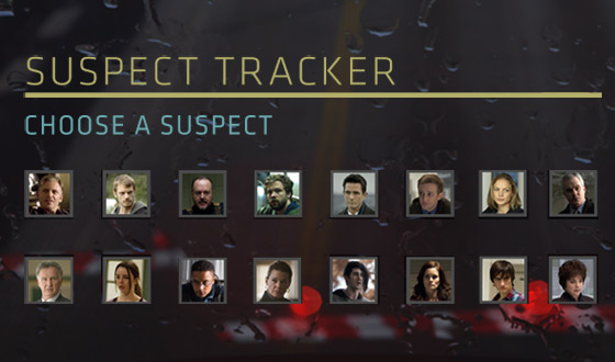 Share Who You Think Killed Rosie Larsen With <em>The Killing</em> Suspect Tracker