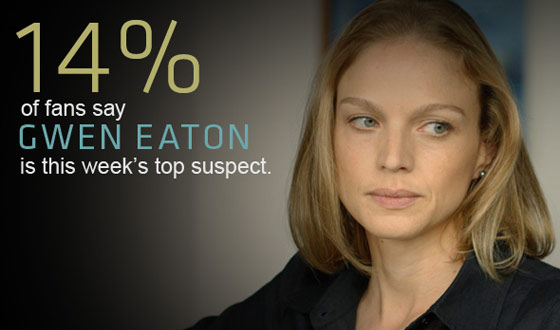 <em>The Killing</em> Suspect Tracker: Week Two Results