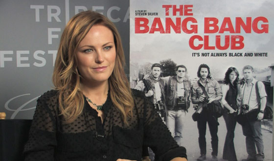 Tribeca Film Festival 2011 &#8211; Malin Akerman on the Physical and Emotional Toll of <em>The Bang Bang Club</em>