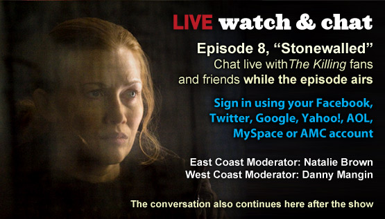 Watch &amp; Chat About <em>The Killing</em> Episode 8 This Sunday Night