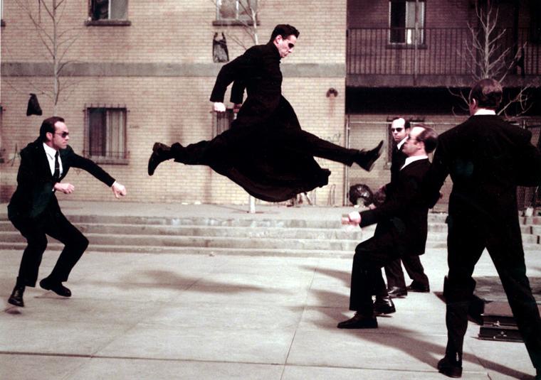 Keanu Reeves' Movie IQ 2 - Neo, The Matrix (1999)