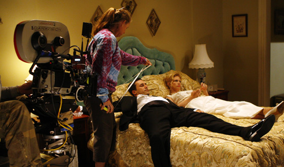 At Last! <em>Mad Men</em> Behind the Scenes Photos for Season 1