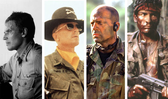 Photos – Charlton Heston? Bruce Willis? Which Veteran of War Movies Has the Most-Decorated Roles?