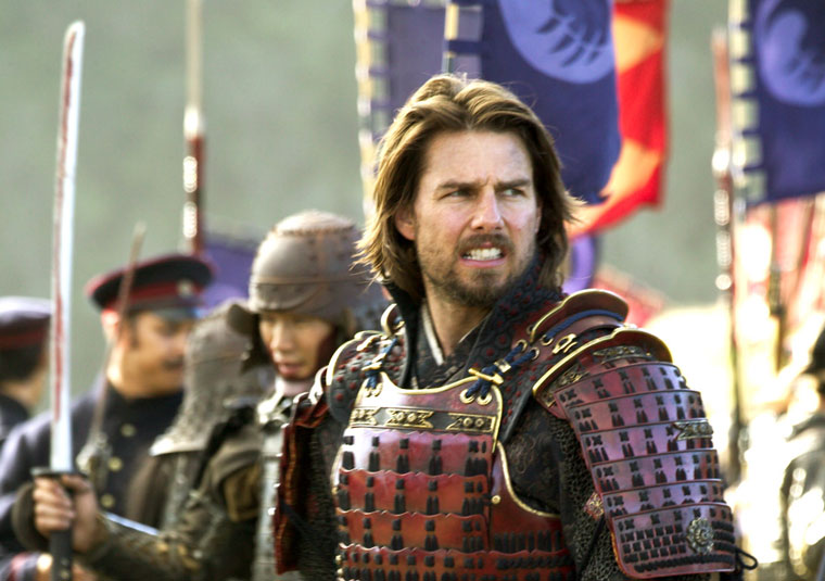 Pretty-Man Actors With Amazing Beards 2 - 10. Tom Cruise, The Last Samurai