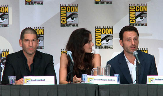 Video &#8211; Highlights From <em>The Walking Dead</em> Comic-Con Panel