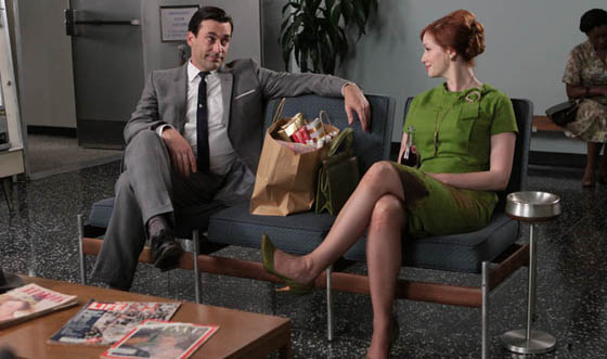 <em>Deadline Hollywood</em> Predicts <em>Mad Men</em> Emmy; More on Hamm and Hendricks at Critics&#8217; Choice Awards