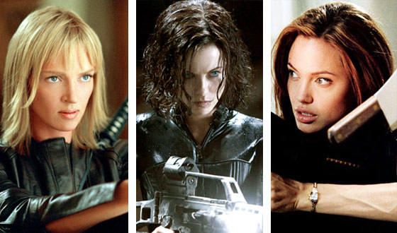 If Uma Thurman Is Only the Third-Hottest Action Chick, Just Imagine What No. 1 Looks Like