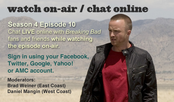 Chat Online While Watching Season 4 Episode 10 On-Air This Sunday Night