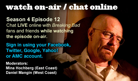 Chat Online While Watching Season 4 Episode 12 On-Air This Sunday Night
