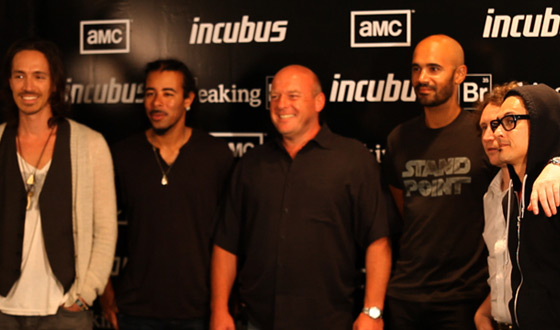 Video – Dean Norris and Incubus