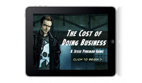 The Cost of Doing Business Graphic Novel Game Now Available for iPad