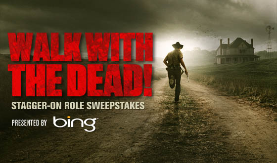 Win a Stagger-On Role on <em>The Walking Dead</em> With the Microsoft Bing Sweepstakes