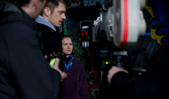Photos &#8211; Behind the Scenes of <em>The Killing</em> Season 1