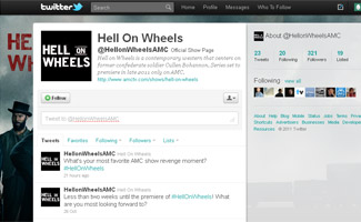 <em>Hell on Wheels</em> Is Now on Twitter