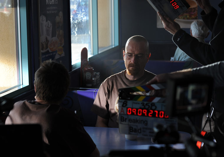 Breaking Bad Behind the Scenes Photos From Vince Gilligan 1 - Breaking Bad Behind the Scenes Photos From Vince Gilligan