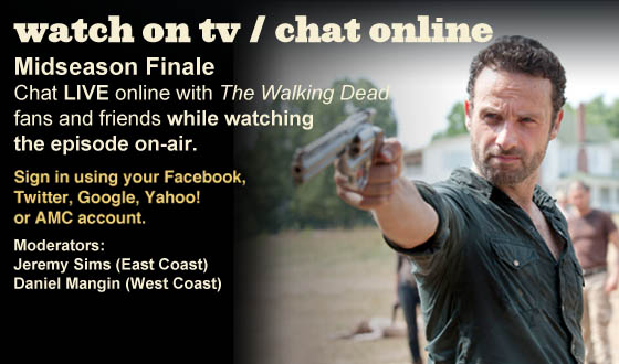 Chat Online While Watching the Midseason Finale On TV This Sunday Night