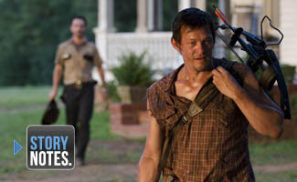Story Notes for <em>The Walking Dead</em> Season 2 Episode 4, &#8220;Cherokee Rose&#8221;