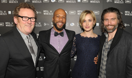 Red Carpet Photos From the <em>Hell on Wheels</em> Premiere Party