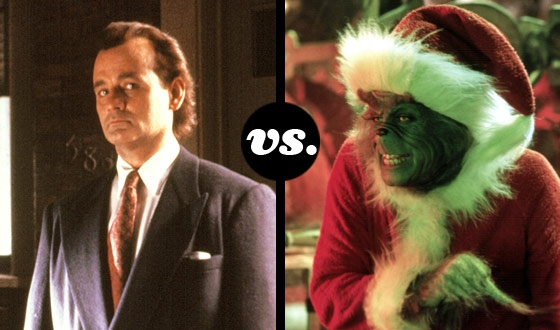 <em>Scrooged</em>&#8216;s Bill Murray Takes on Jim Carrey&#8217;s Grinch in a Battle of Holiday-Movie Humbuggery