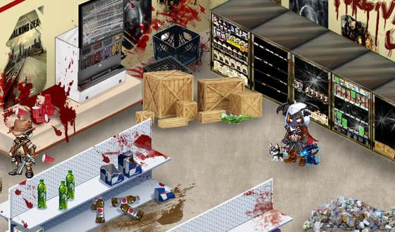 <em>The Walking Dead</em> Invades Virtual World Gaia Online